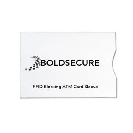 rfid anti theft paper card sleeve