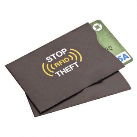 rfid block card sleeve
