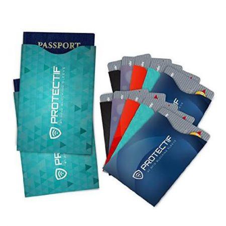 rfid blocking paper card case