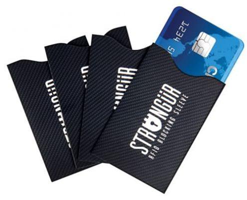 rfid blocking paper card cases