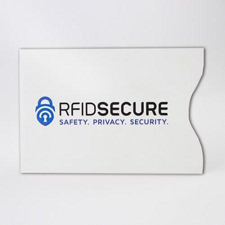 rfid blocking paper card holder
