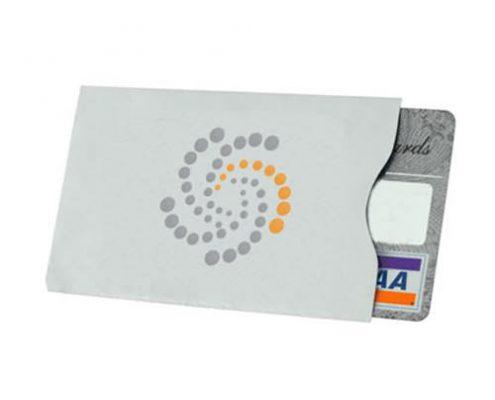 rfid blocking paper card sleeve