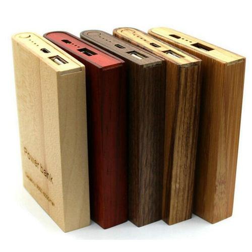 wooden power bank